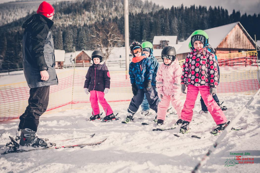 Лыжная школа для детей в Карпатах, Красна Поляна