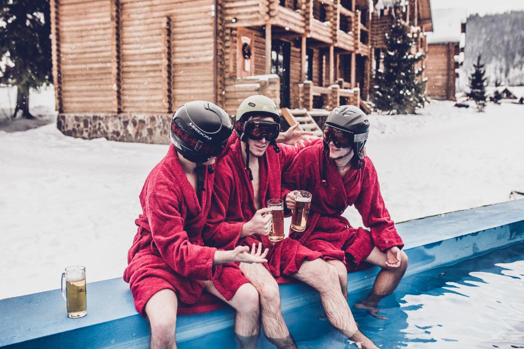Отдых в Буковеле зимой, Красна Поляна