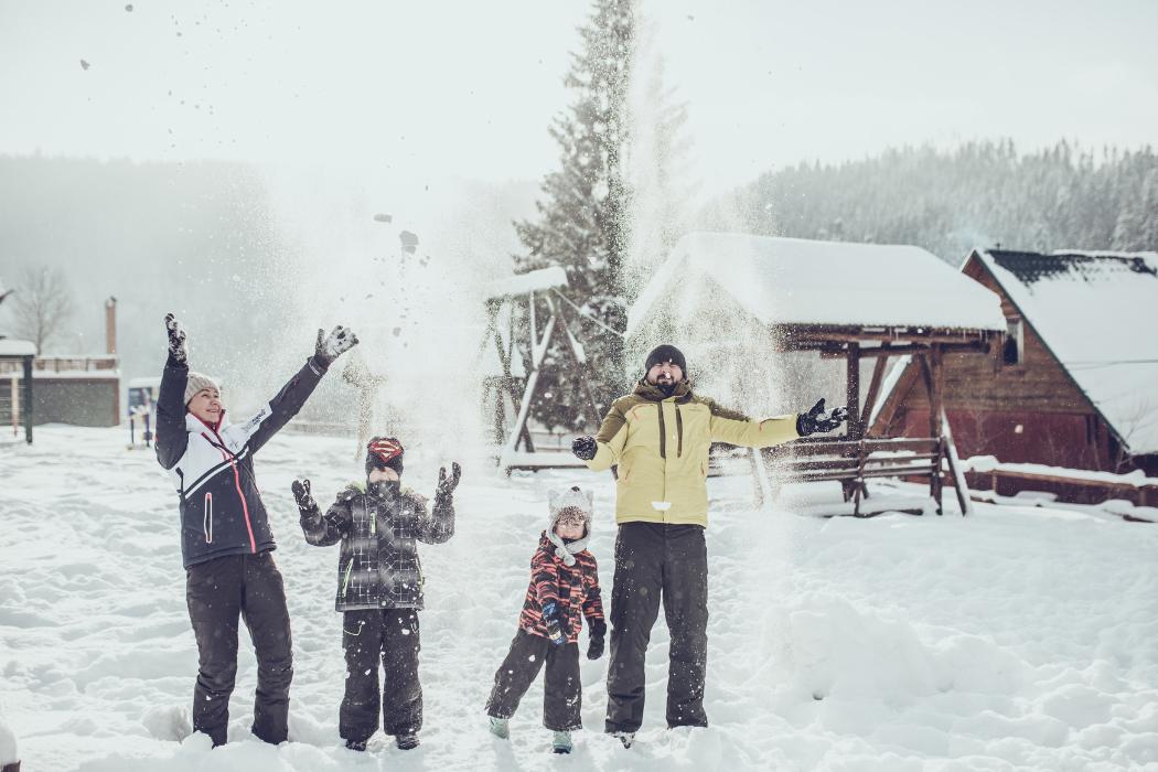 Семейный зимний отдых в Карпатах, Красна Поляна