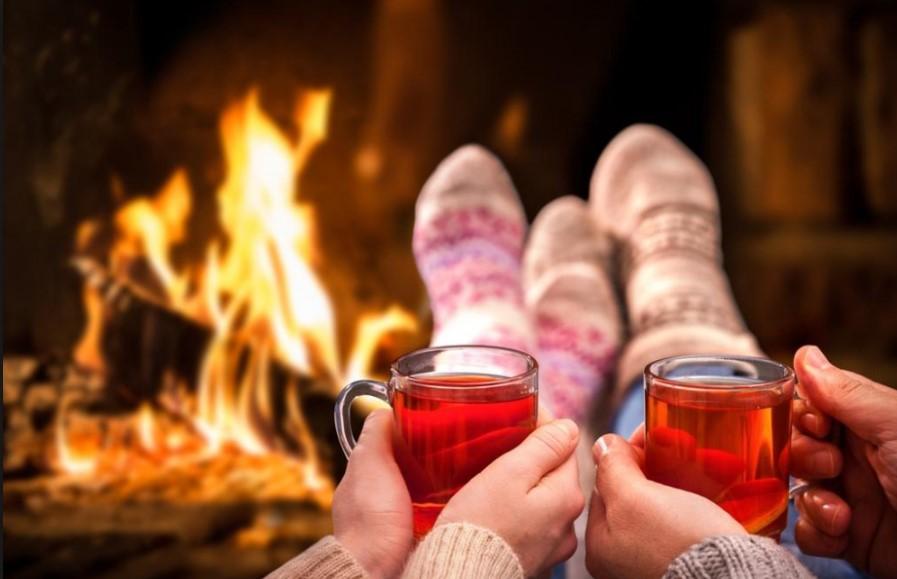 Уютный зимний вечер в Красна Поляна